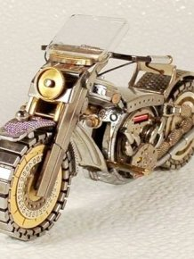 Awesome Bikes Made Out Of Old Watches
