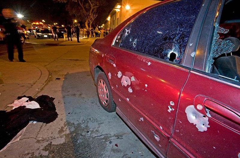 Gang wars in Los Angeles