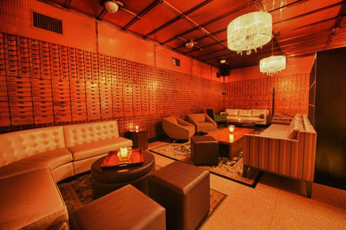 Chicago Supper Club Inside a 1920s Bank with VIP Vault Room