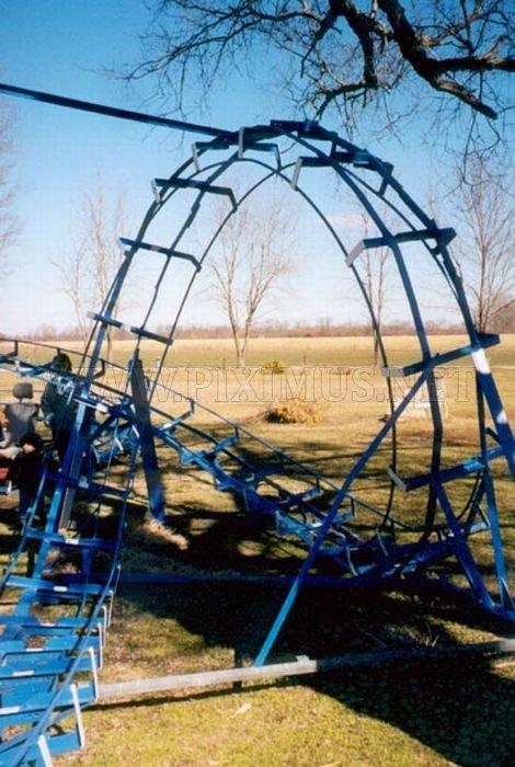Homemade Roller Coaster