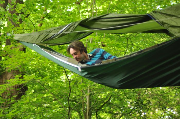 Suspended Camping Tent by Tentsile , part 2