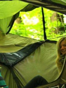 Suspended Camping Tent by Tentsile