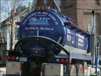 Sanitation Trucks With Hilarious Signs & Messages