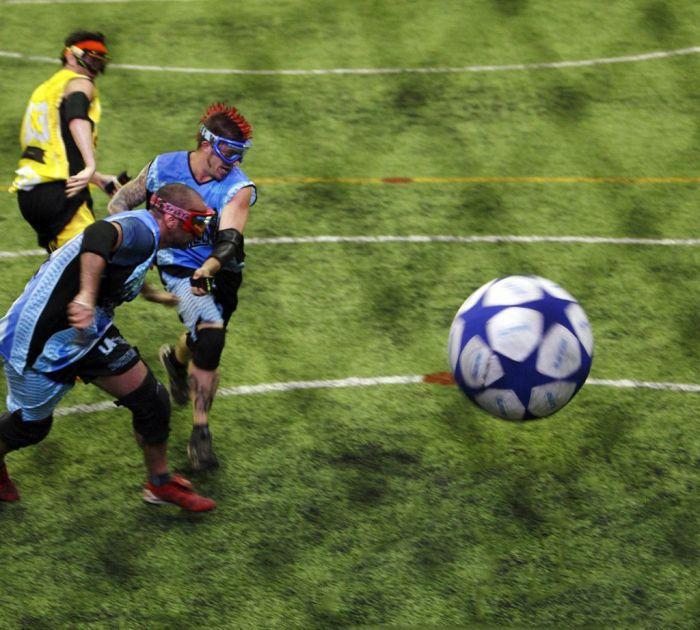 Tough but Fascinating Taser Ball Game