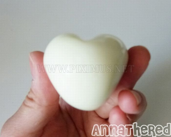 How to Make a Heart Shaped Hard Boiled Egg