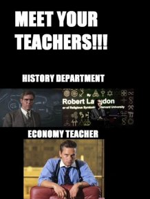 If Teachers Were TV and Movie Characters