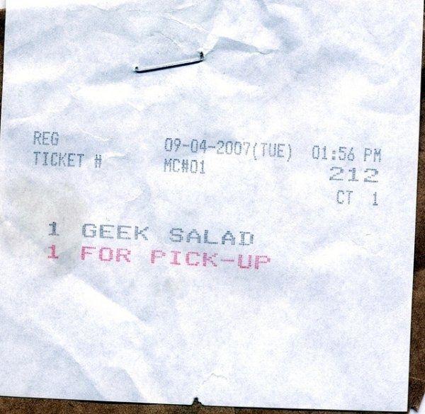 Odd Receipts
