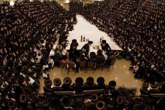 Wasted Israelis During the Purim Celebration
