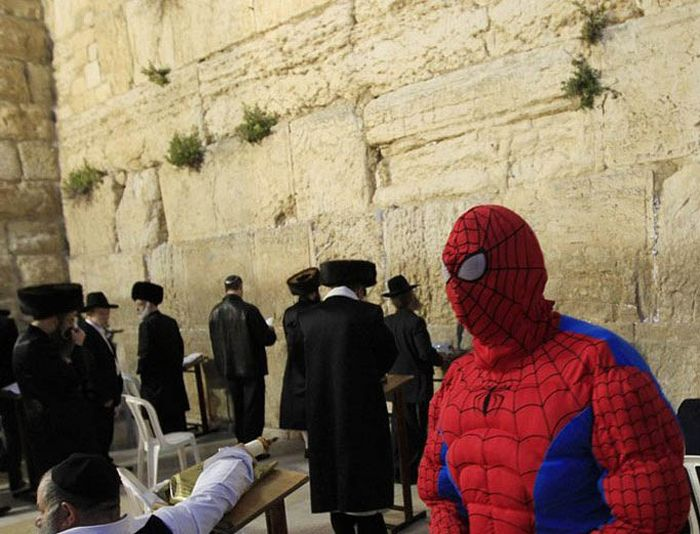 Wasted Israelis During the Purim Celebration