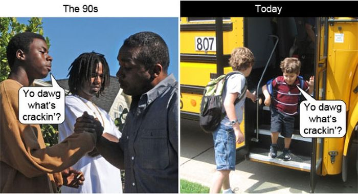Difference Between Now & The 90's