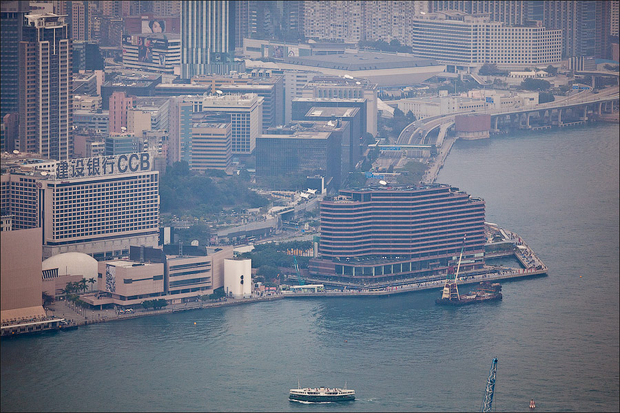 Photography of Hong Kong from Victoria Peak