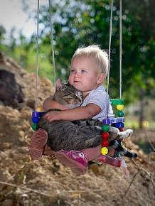 Animals and Humans Being Too Cute