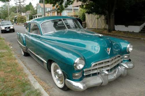 Cadillac Series 62 - Club Coupe