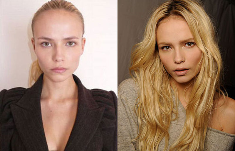 Do Supermodels Look Average Without Makeup?