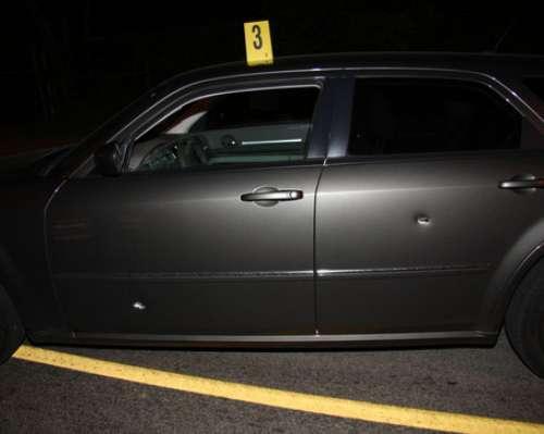 bullet holes in cars vehicles. Black Bedroom Furniture Sets. Home Design Ideas
