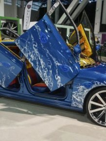 All The Best Pictures From SEMA 2015
