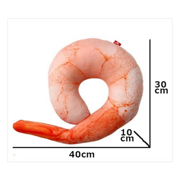 You Can Thank Japan For This Inflatable Shrimp Shaped Pillow