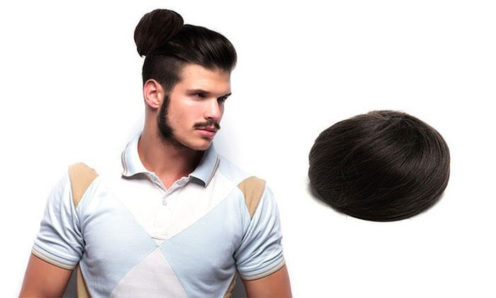 No This Isn't A Joke Clip On Man Buns Are Real