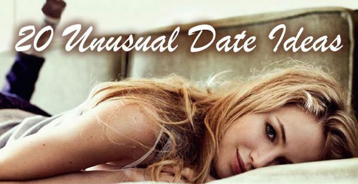 20 Unusual Date Ideas To Spice Up Your Love Life