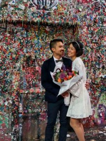 24 Years Worth Of Chewing Gum Removed From A Seattle Wall