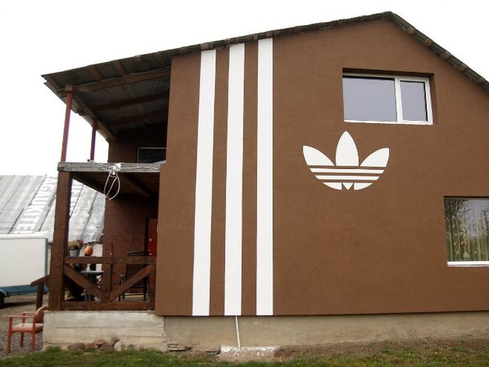 This Guy Took His Love Of Adidas Home With Him