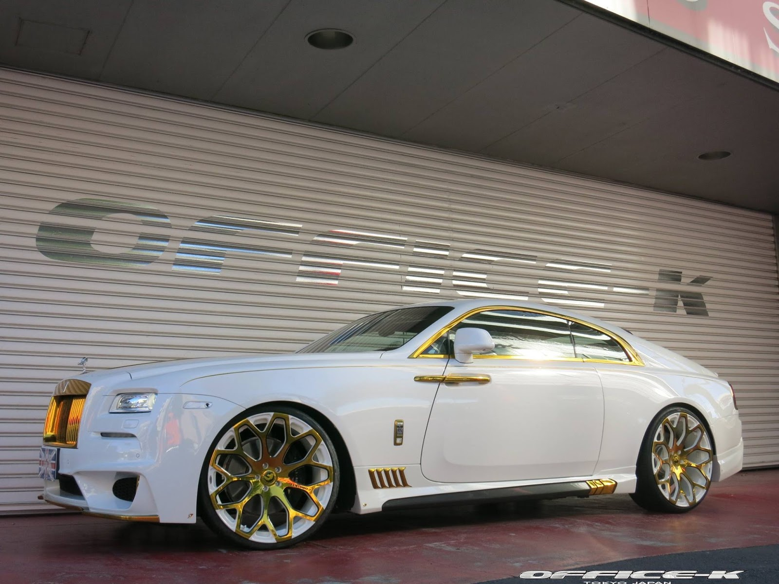 Rolls Roys Wraith By K Office Vehicles