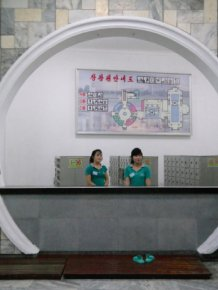 A Look Inside Some Of The Most Beautiful Buildings In North Korea