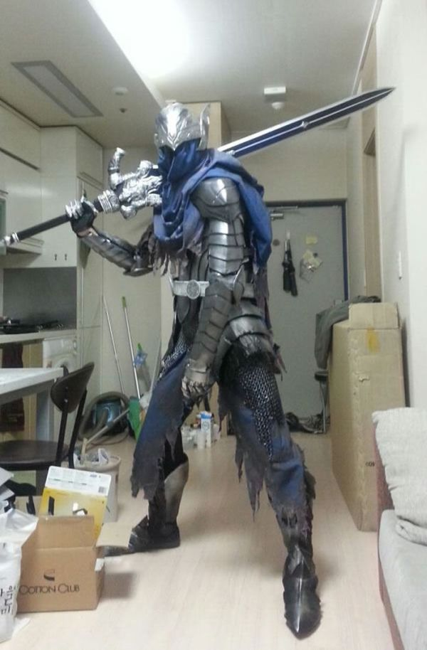 How To Build Armor Like Artorias Of The Abyss From Dark Souls