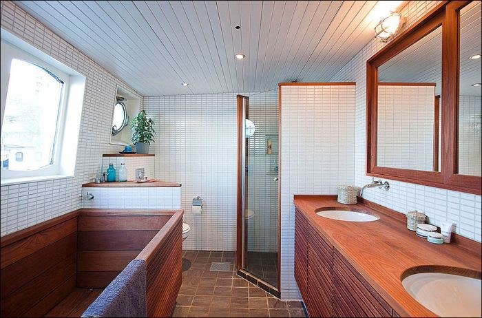 Old Barge Gets Transformed Into A Luxurious House