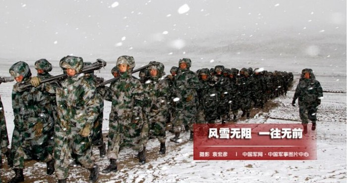 The Chinese Military Undergoes Some Intense Training To Prepare For Battle