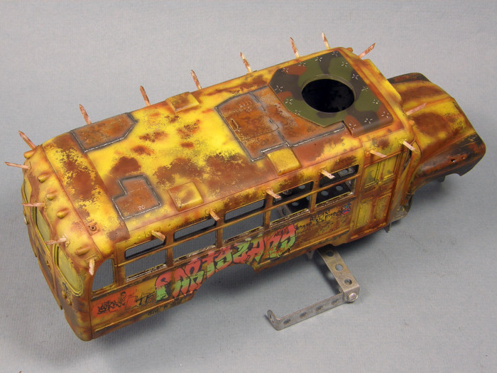 What A Zombie Bus Looks Like When It's Done Right