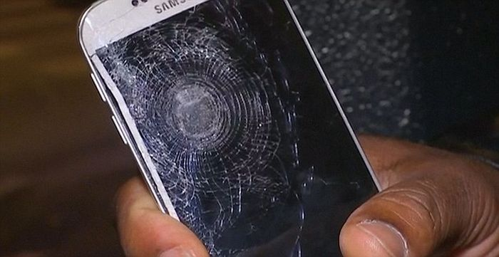 Man Gets Saved By His Mobile Phone During The Paris Attacks