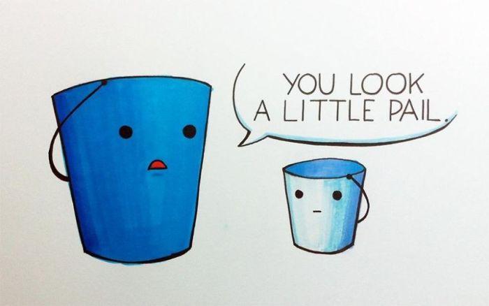 Artists Put Together Simple But Hilarious Puns