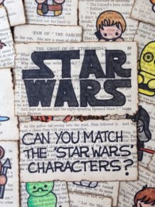 13 Year Old Girl Creates Epic Star Wars Game For Her Friend's Birthday