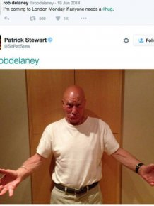 Patrick Stewart Is Absolutely Hilarious On Twitter