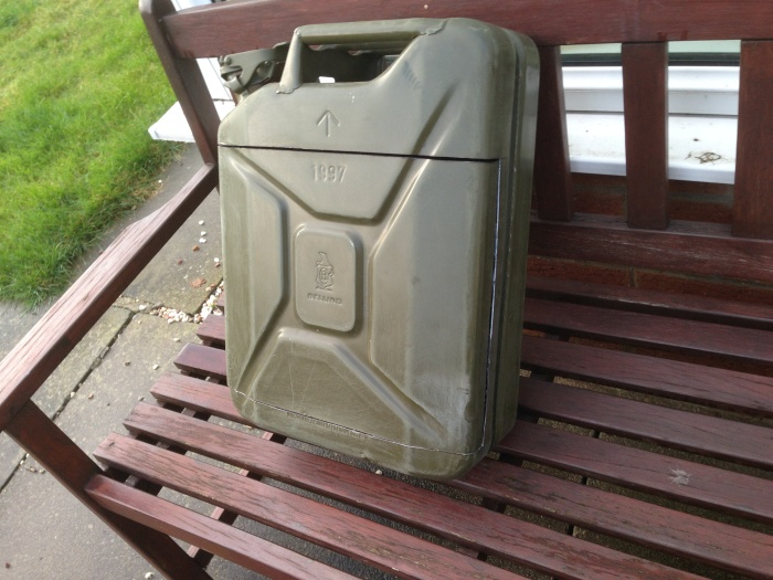 Smart Guy Turns A Jerry Can Into A Mini Bar