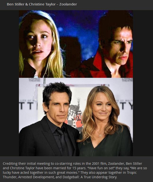 12 Celebrity Couples Who Met On Set - elle.com