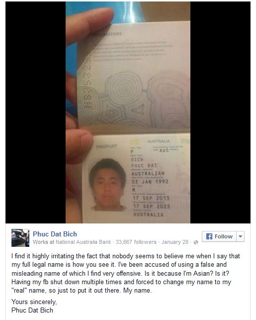 This Man Keeps Getting Banned From Facebook Because Of His Name