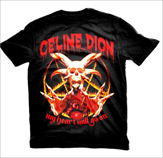 If Pop Stars Released Metal Versions Of Their T-Shirts