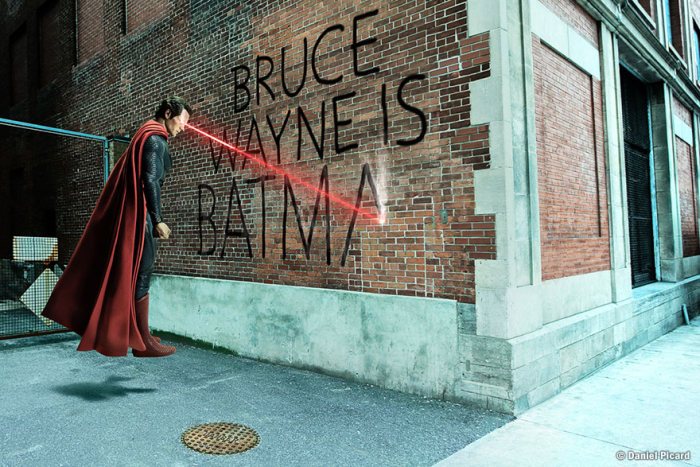 Photographer Captures The Daily Lives Of Superheroes And Villains