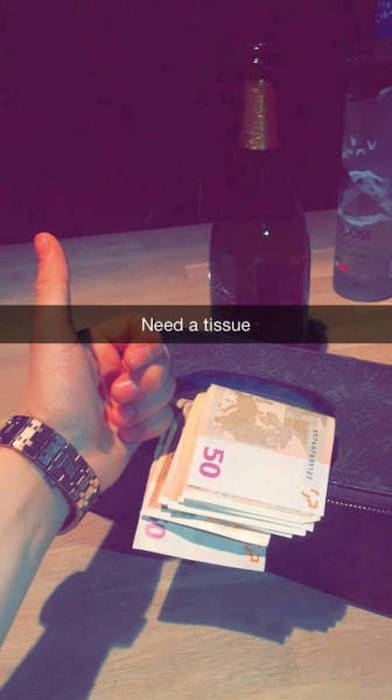 Rich Kids Will Never Turn Down A Chance To Brag On Snapchat