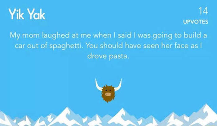 Hilarious Outbursts You Will Only Find On Yik Yak