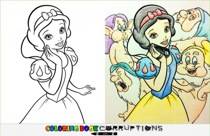Cute Coloring Book Pictures That Will Destroy Your Childhood