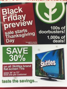 Man Adds Hilarious Fake Black Friday Deals To His Local Target