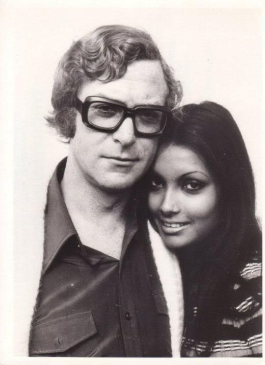 A Look Back At Michael Caine And His Wife Shakira Bakish From The 1970s