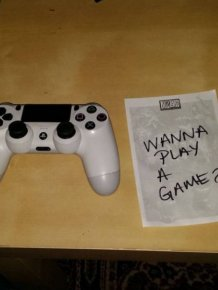 Wife Makes Husband Go Through A Scavenger Hunt To Find Fallout 4