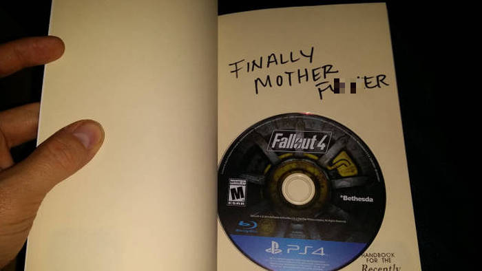 Wife Makes Husband Go Through A Scavenger Hunt To Find Fallout 4, part 4