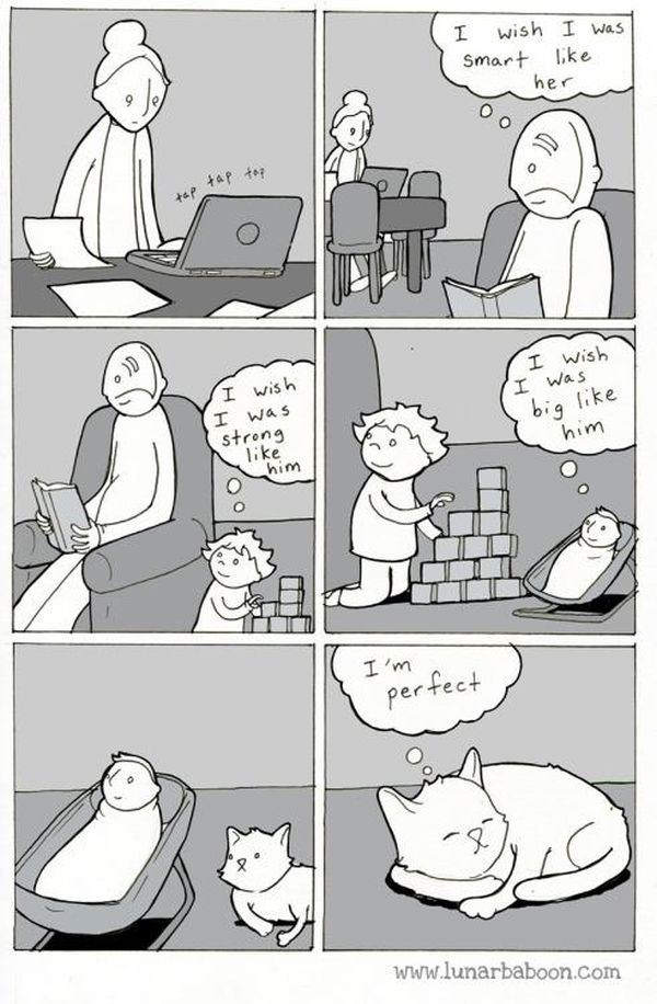 Comics From Lunarbaboon That Perfectly Sum Up The Parenthood Experience