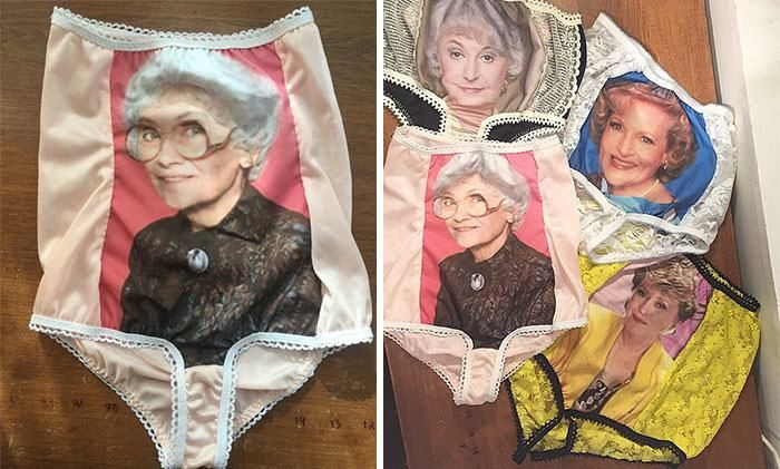 Someone Decided To Make Golden Girls Granny Panties And They're Ridiculous