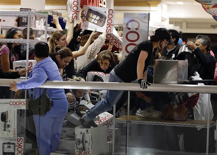 Beware Of The Zombies On Black Friday